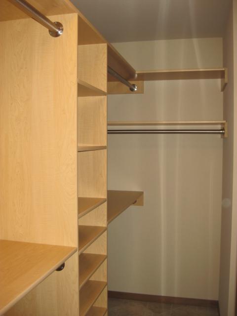 Finished Closet 2